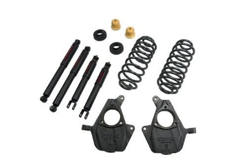 Belltech 761ND 2inch Front 2-3inch Rear Lowering Kit w/ ND2 Shocks Chevrolet Avalanche 2000-2006
