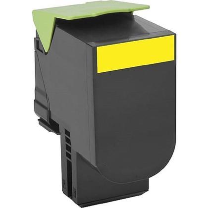 Compatible Lexmark 71B10Y0 Yellow Toner Cartridge - Economical Box