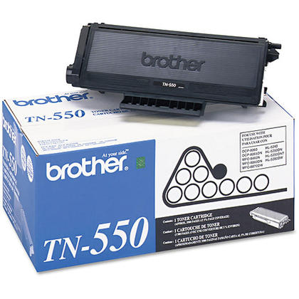 Brother TN550 Original Black Toner Cartridge