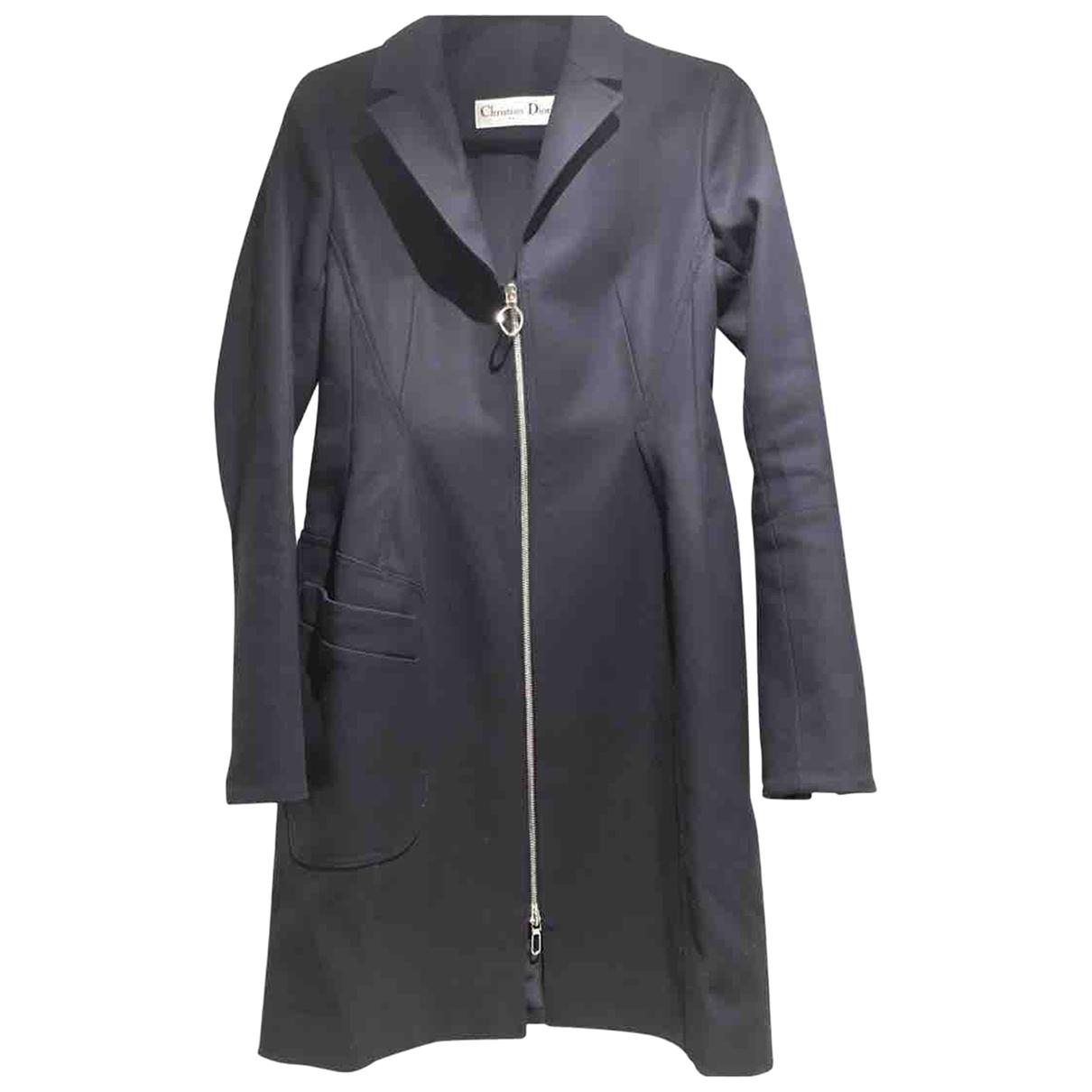 Dior \N Black Cotton coat for Women 40 FR