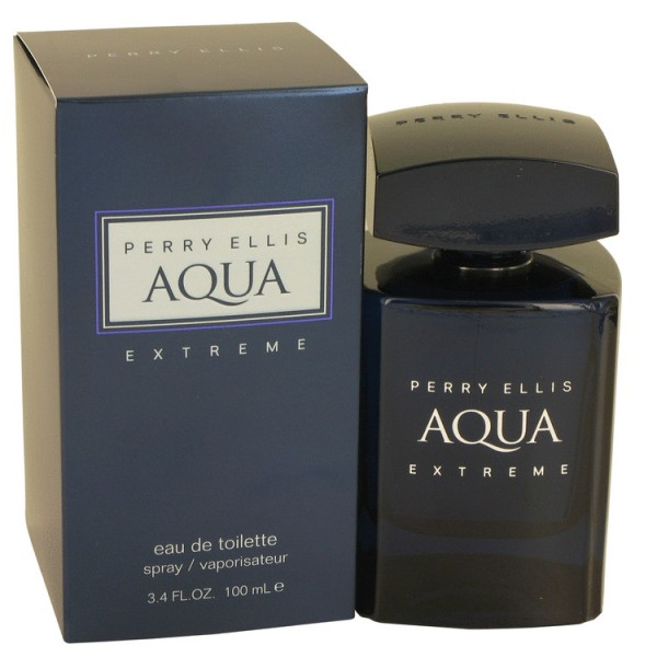 Perry Ellis - Aqua Extreme : Eau de Toilette Spray 3.4 Oz / 100 ml