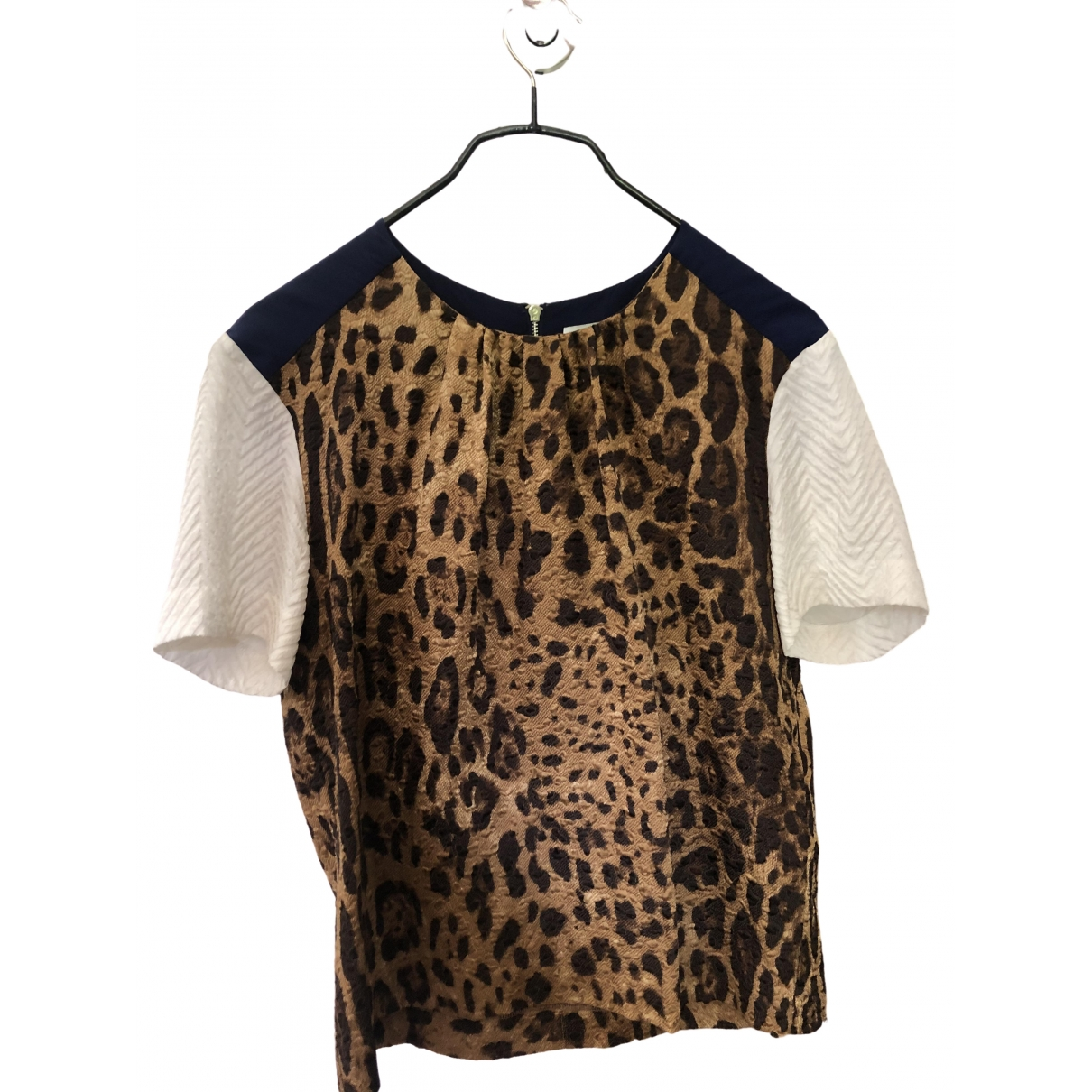 Sandro \N Multicolour Silk  top for Women 36 FR