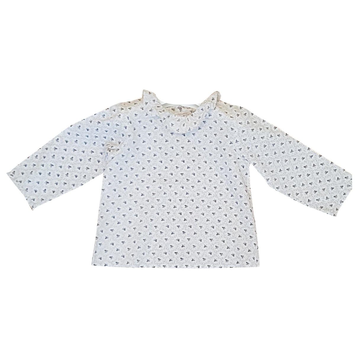 Bonpoint \N Beige Cotton  top for Kids 18 months - up to 81cm FR