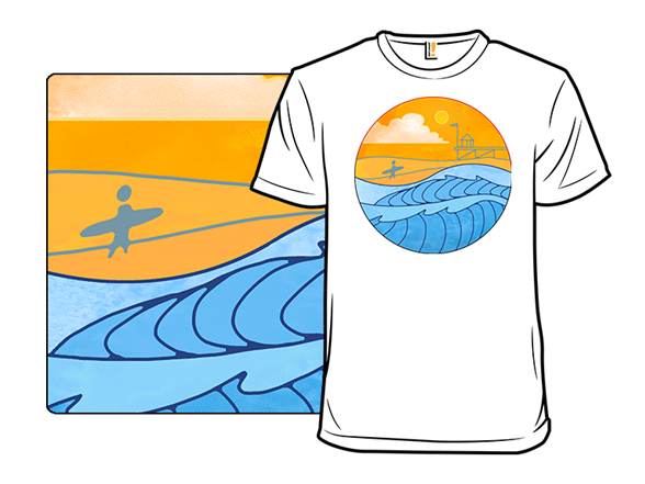 A Day At The Beach T Shirt