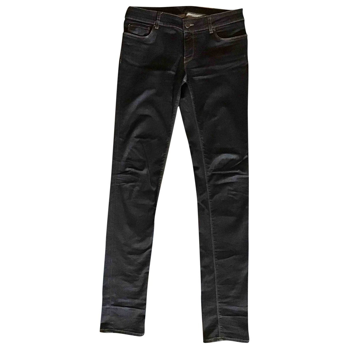 Prada \N Blue Denim - Jeans Trousers for Women 42 IT