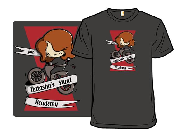 Natasha's Stunt Academy T Shirt
