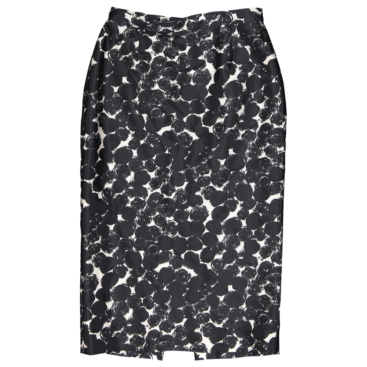 Celine \N Black Wool skirt for Women 40 FR