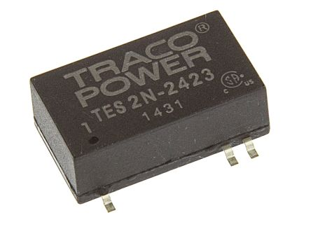 TRACOPOWER TES 2N 2W Isolated DC-DC Converter Surface Mount, Voltage in 18 → 36 V dc, Voltage out ±15V dc
