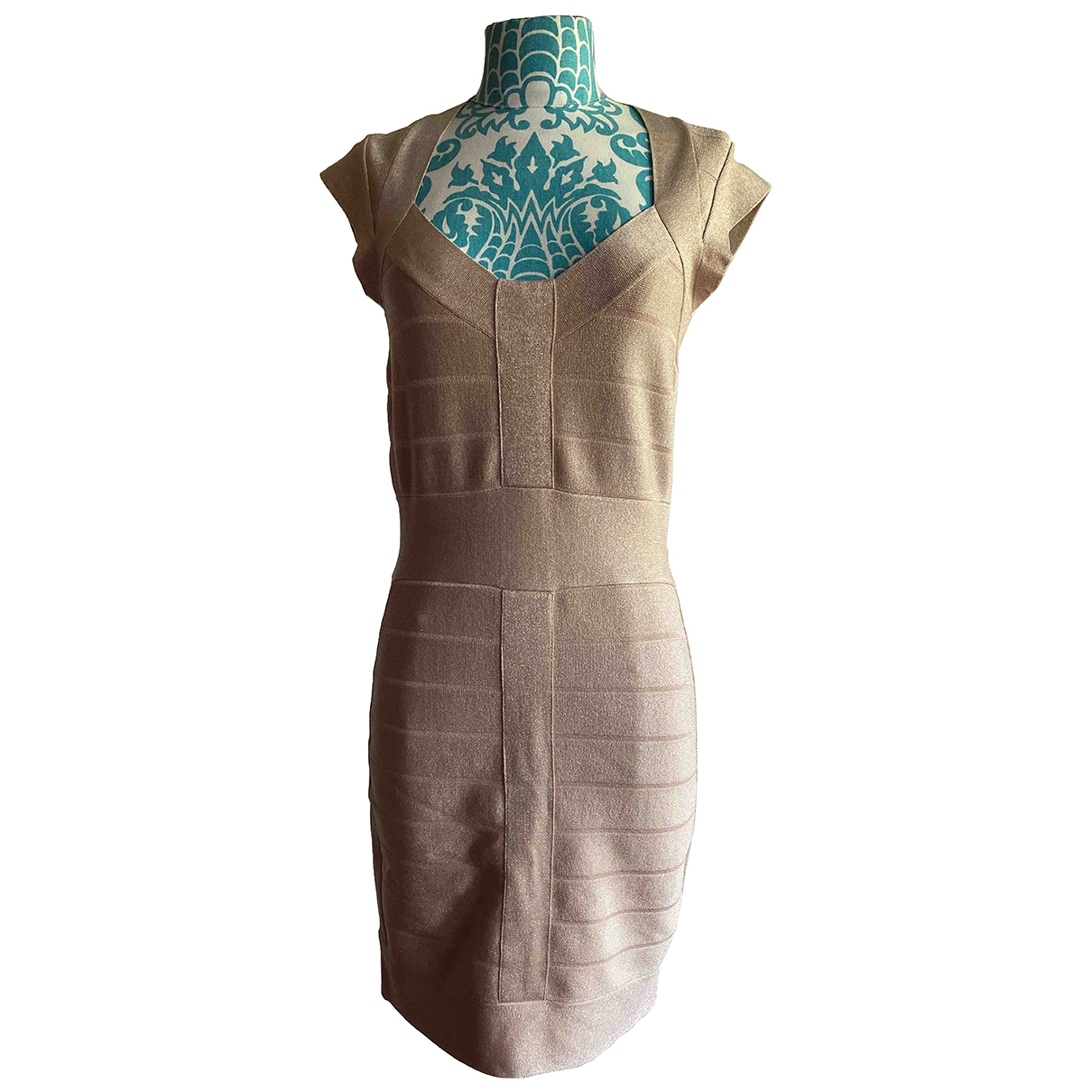 French Connection \N Gold dress for Women 38 FR
