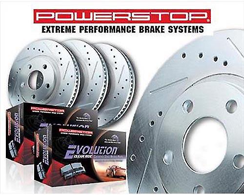 Power Stop K138 Performance Brake Upgrade Kit Front & Rear K138