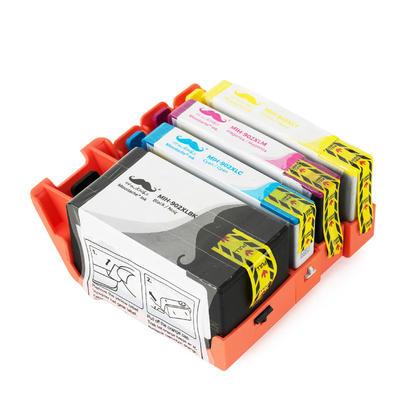 Compatible HP OfficeJet Pro 6968 Ink Cartridges BK/C/M/Y High Yield - Moustache