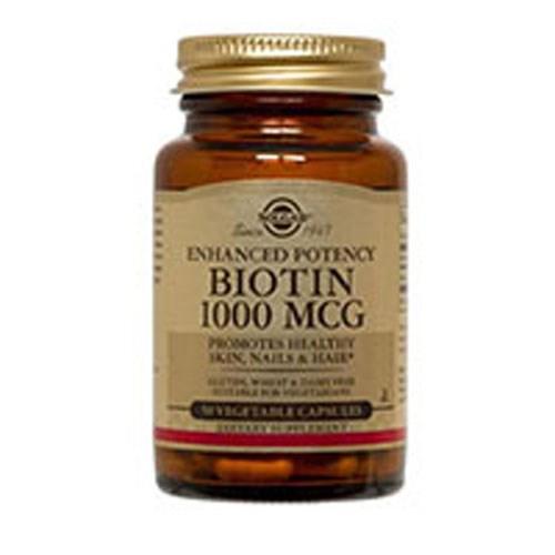 Biotin 100 V Caps by Solgar