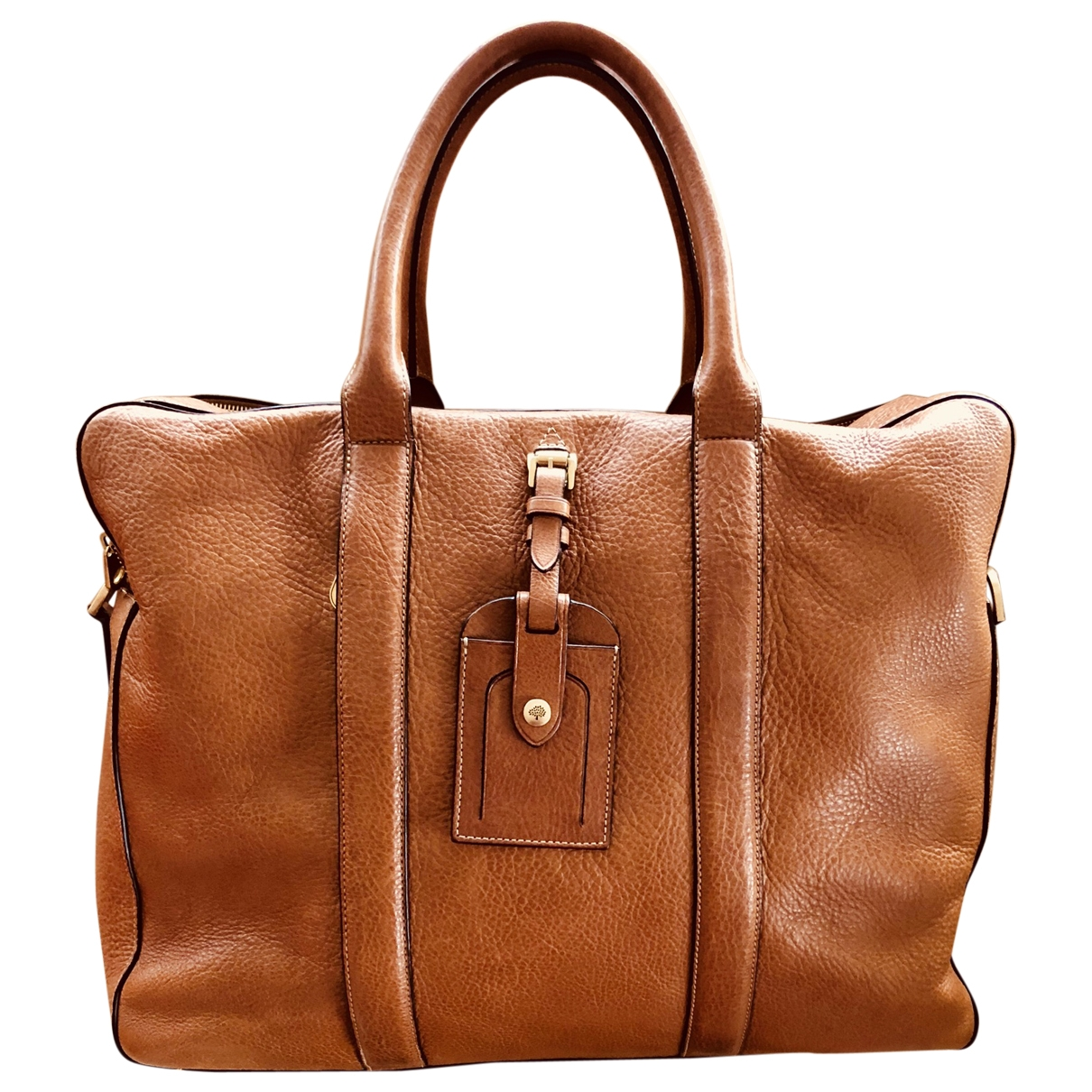 Mulberry \N Brown Leather Travel bag for Women \N