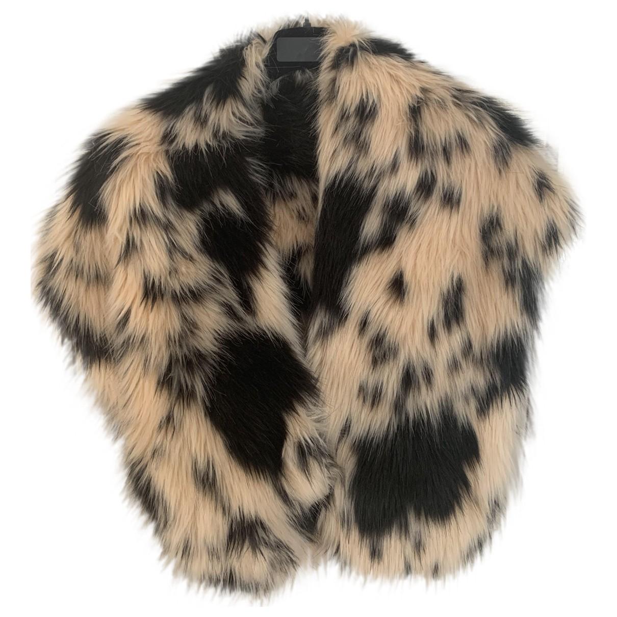 Shrimps \N Black Fur scarf for Women \N
