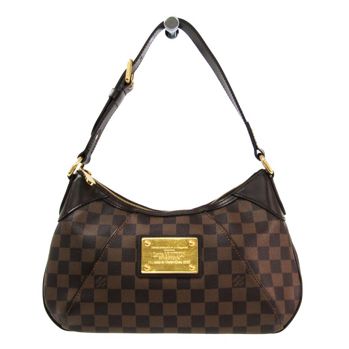 Louis Vuitton Thames Brown Cloth handbag for Women \N
