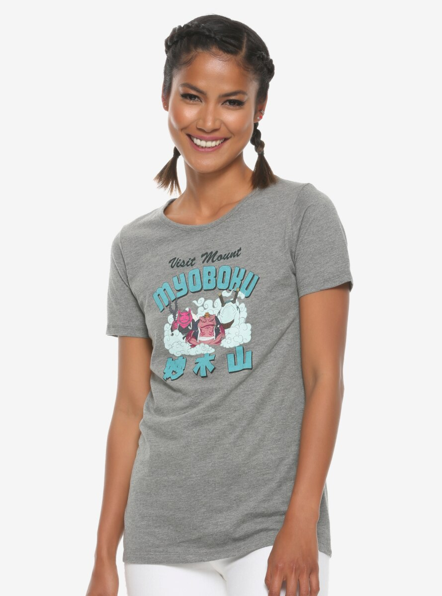 Naruto Mount Myoboku Women's T-Shirt - BoxLunch Exclusive
