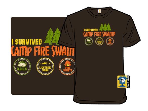 Camp Fire Swamp T Shirt