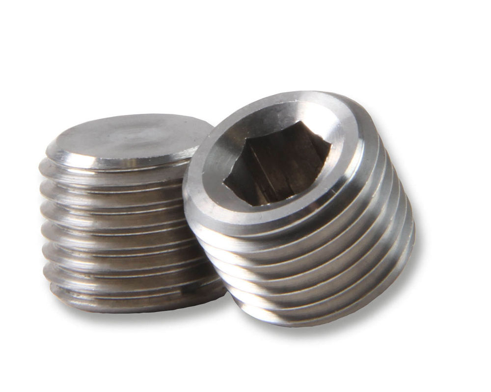 Earl's Performance SS593202ERL 1/8 NPT PLUG STAINLESS STEEL