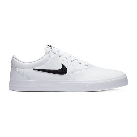 Nike SB Charge Prm Mens Skate Shoes, 11 1/2 Medium, White