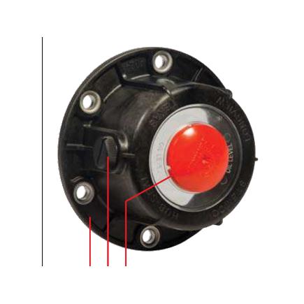 Stemco 368-4195 - Stemco Defender Hubcap   Sentinel Grease