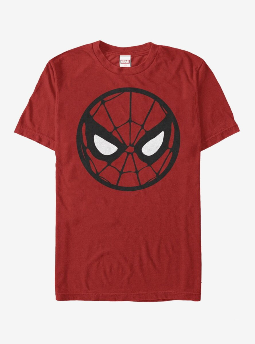 Marvel Spider-Man Circle Mask T-Shirt