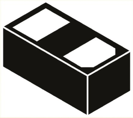 Bourns CDDFN2-T3.3B, Bi-Directional ESD Protection Diode, 2-Pin DFN (25)