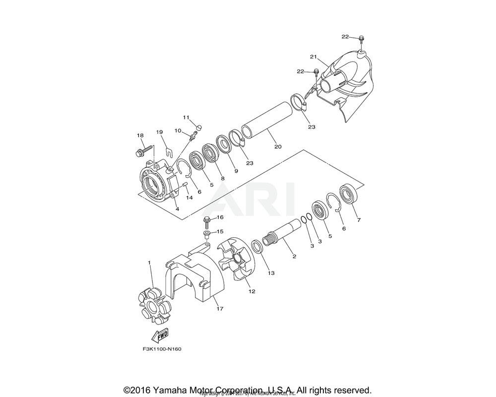 Yamaha OEM 93450-66156-00 CIRCLIP