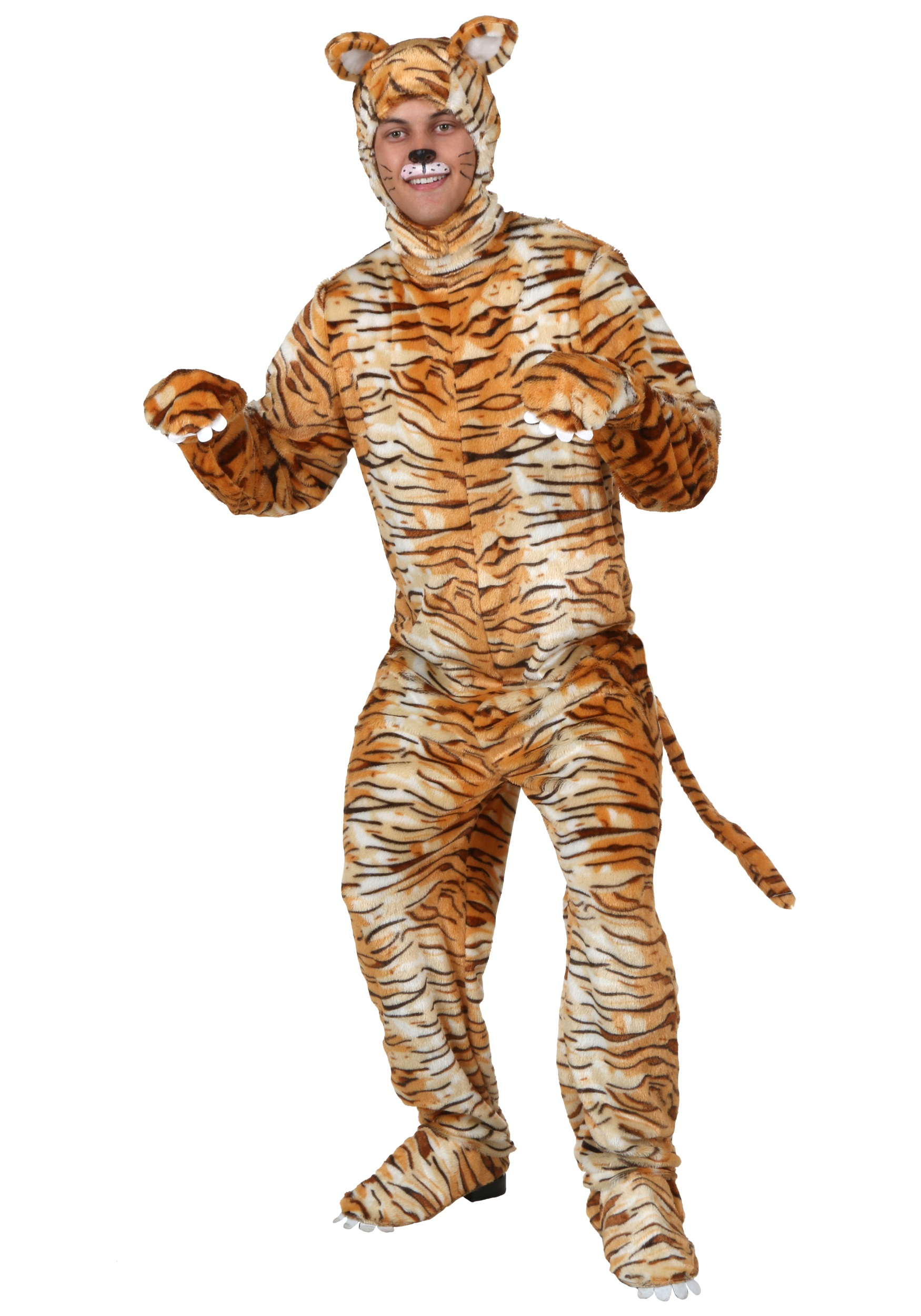 Tiger Costume for Adults