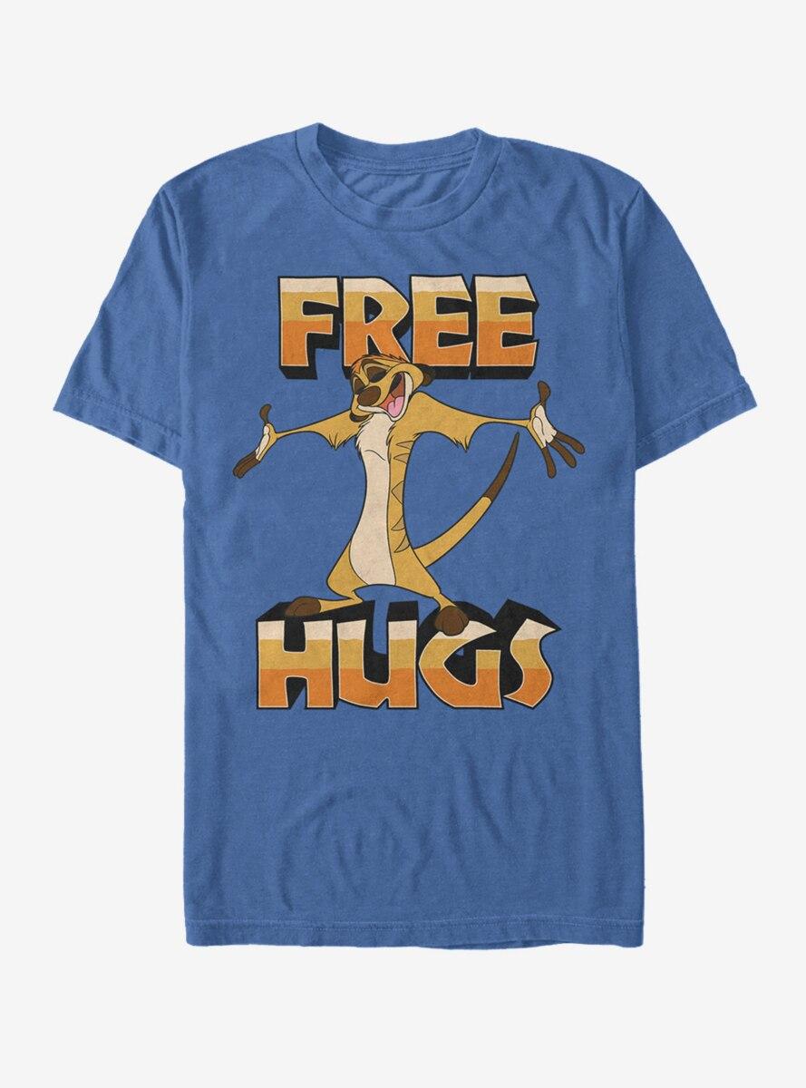 Disney The Lion King Timon Free Hugs T-Shirt