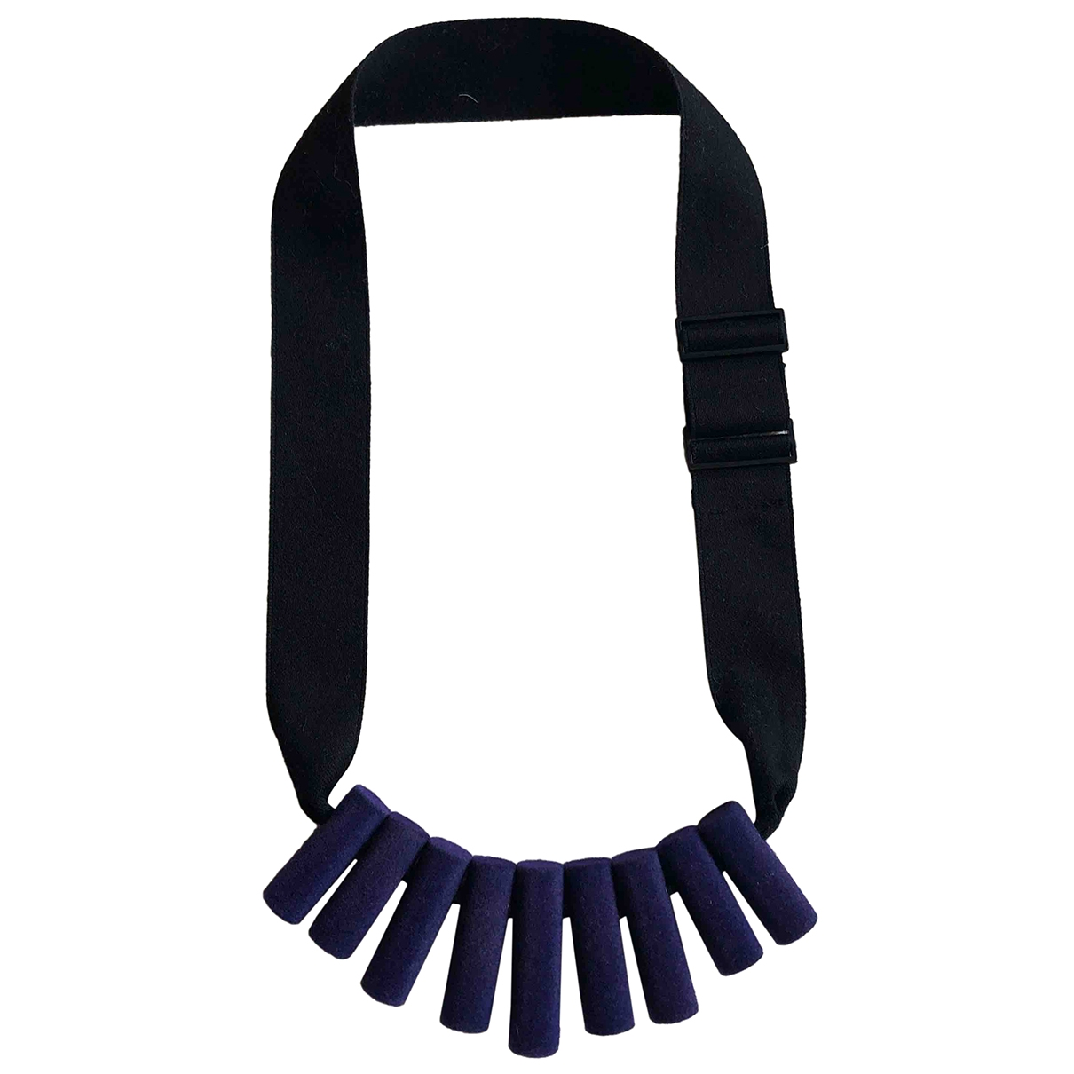 Cos \N Purple Cloth necklace for Women \N