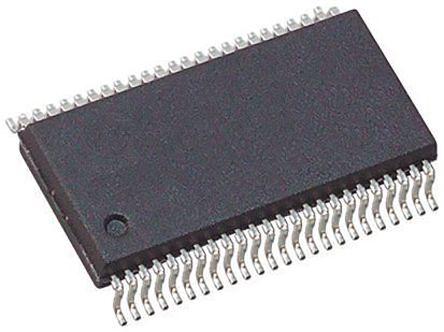 Texas Instruments 74LVCH16T245DL, Dual Bus Transceiver, Bus Transceiver, 16-Bit Non-Inverting LVTTL, 48-Pin SSOP (5)