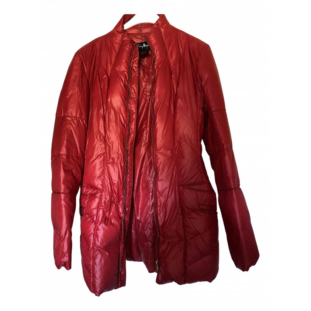 Thierry Mugler \N Red coat for Women 38 FR