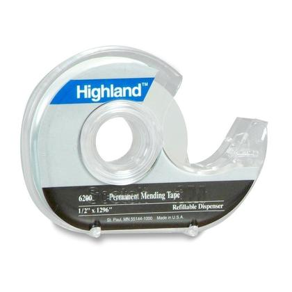 3M Highland Invisible Adhesive Tape of Multi Sized - Dispenser (19mm x 33m) 261487