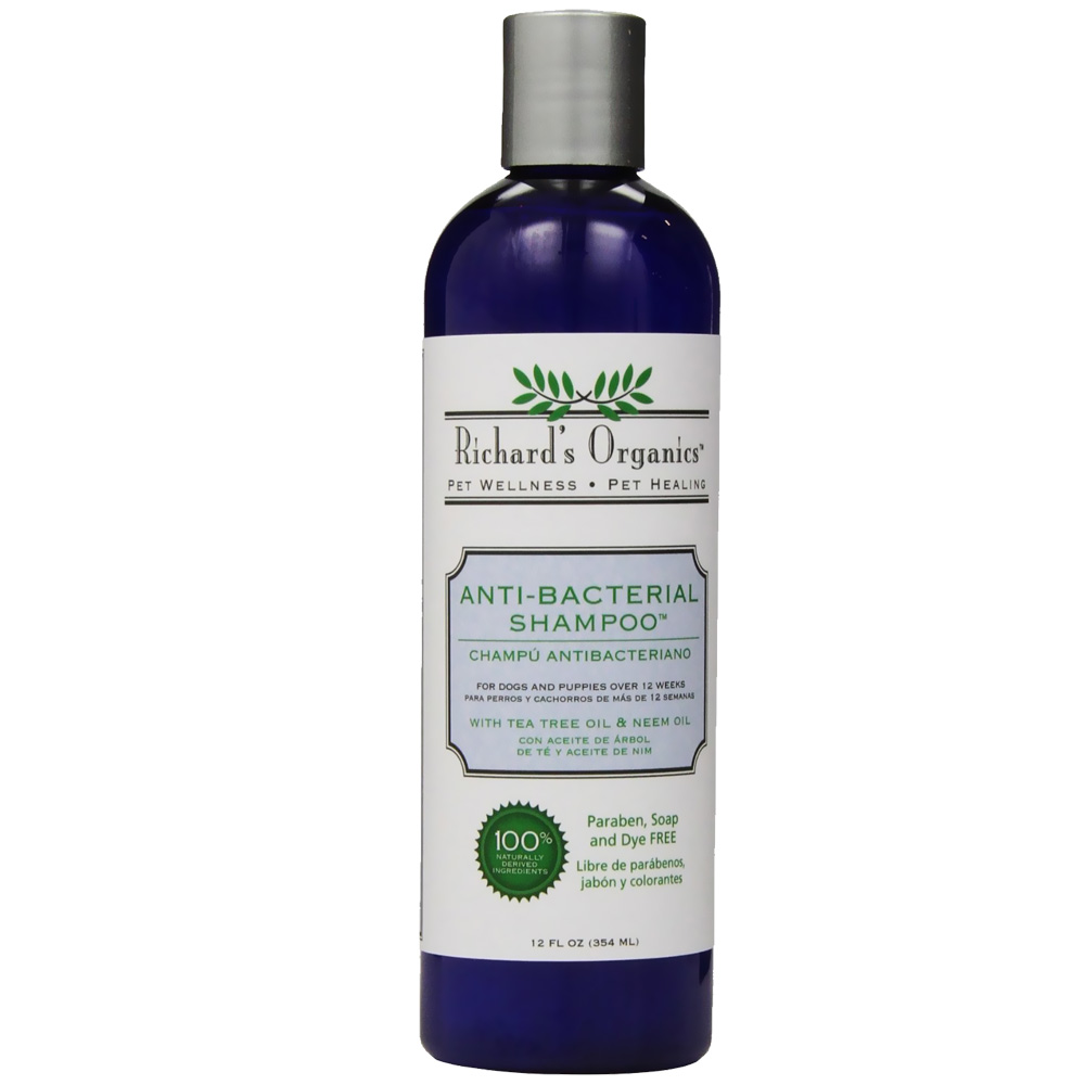 Richard's Organics Anti-Bacterial Shampoo (12 fl oz)