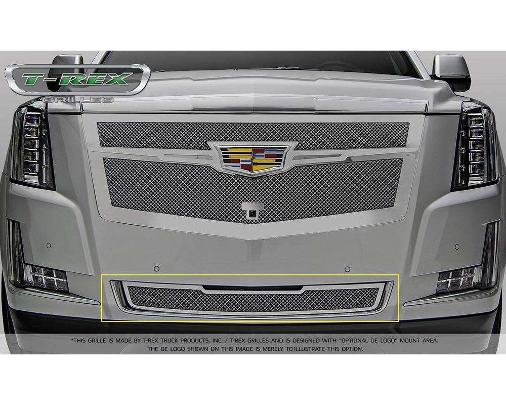 2015-2019 Escalade Upper Class Bumper Grille, Chrome, 1 Pc, Replacement - PN #57181