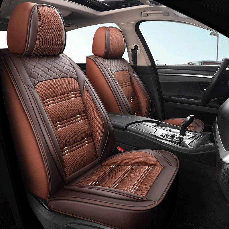 Breathable Wear-resistant PU Leather & Breathable Fabrics Wear-resisting Scratch No Peculiar Smell Fresh Breathable Not Stuffy Airbag Compatible 5-sea