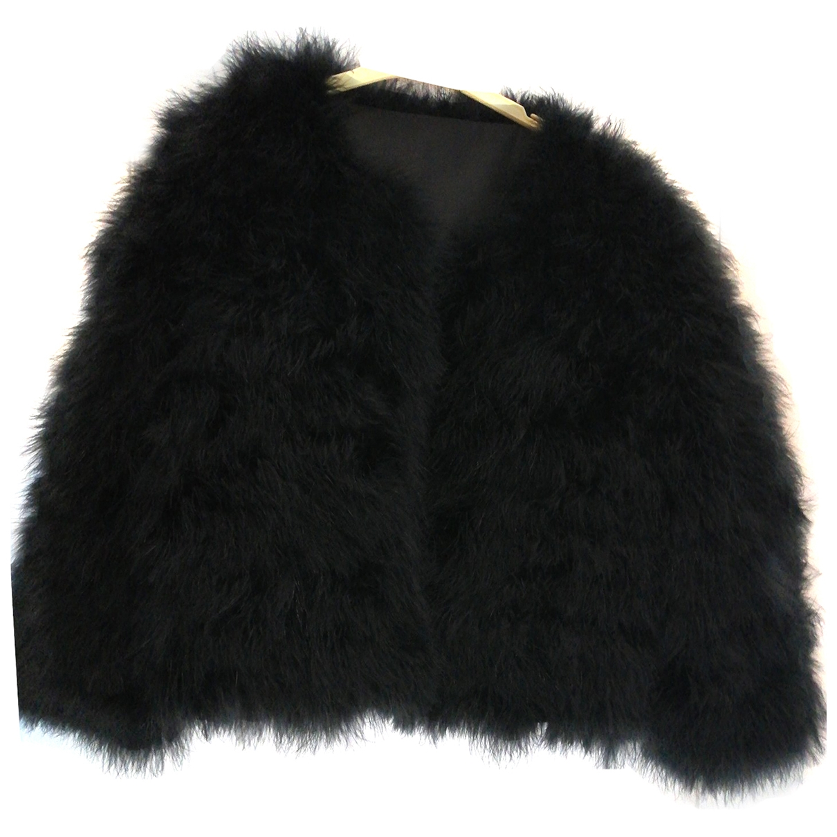 Non Signé / Unsigned \N Black Fur coat for Women M International