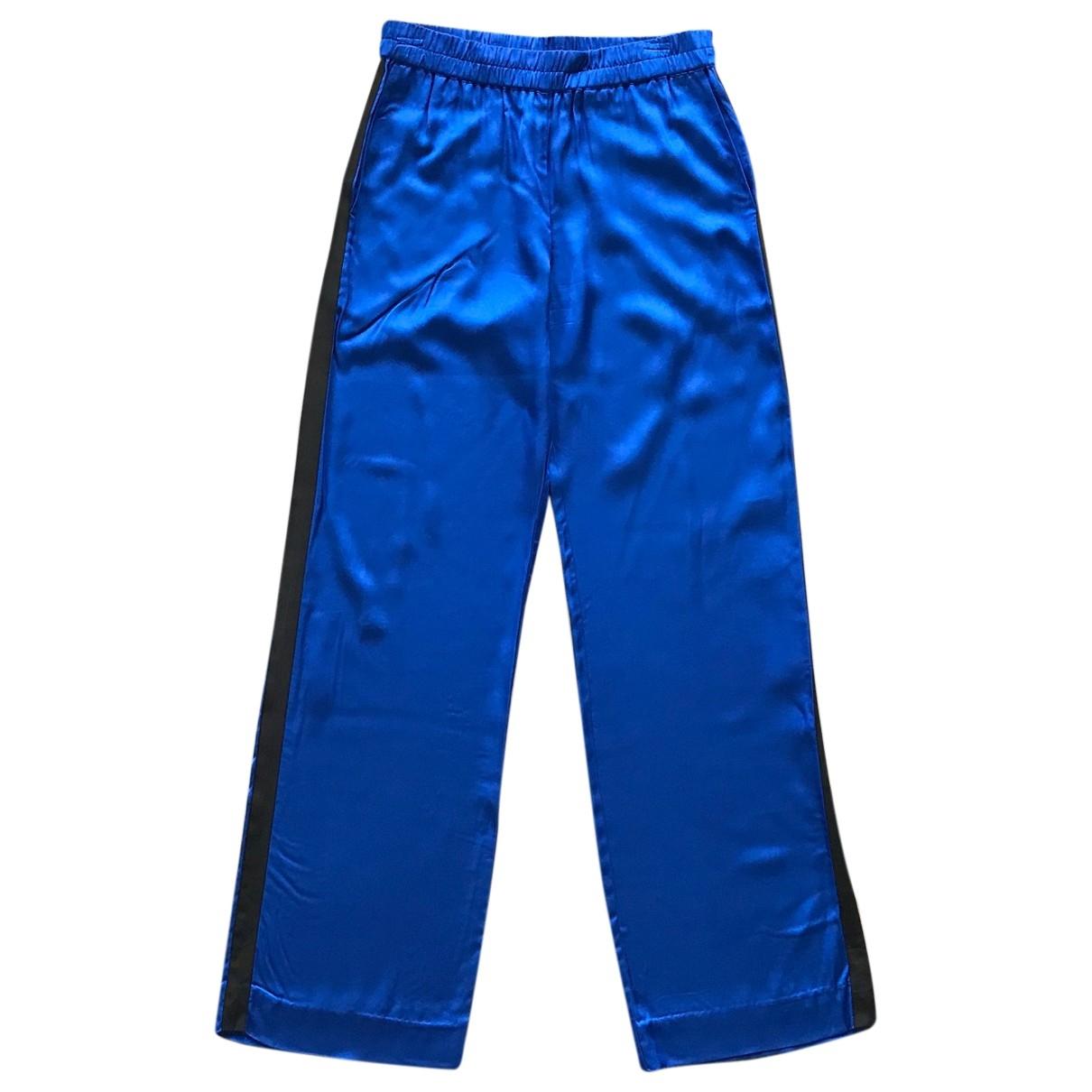 Baum Und Pferdgarten \N Blue Trousers for Women S International