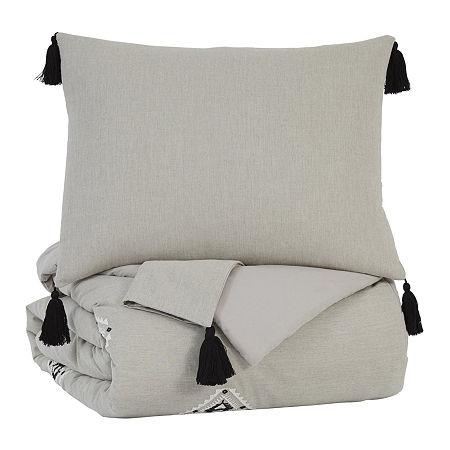 Siganture Design by Ashley Jawanza Comforter Set, One Size , Gray