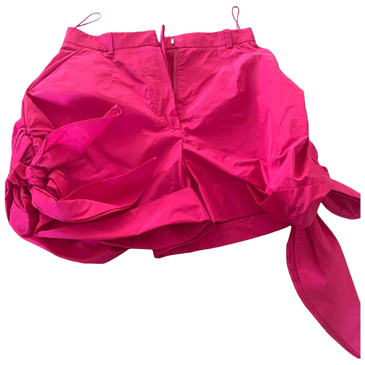 Carven \N Pink Shorts for Women 36 FR