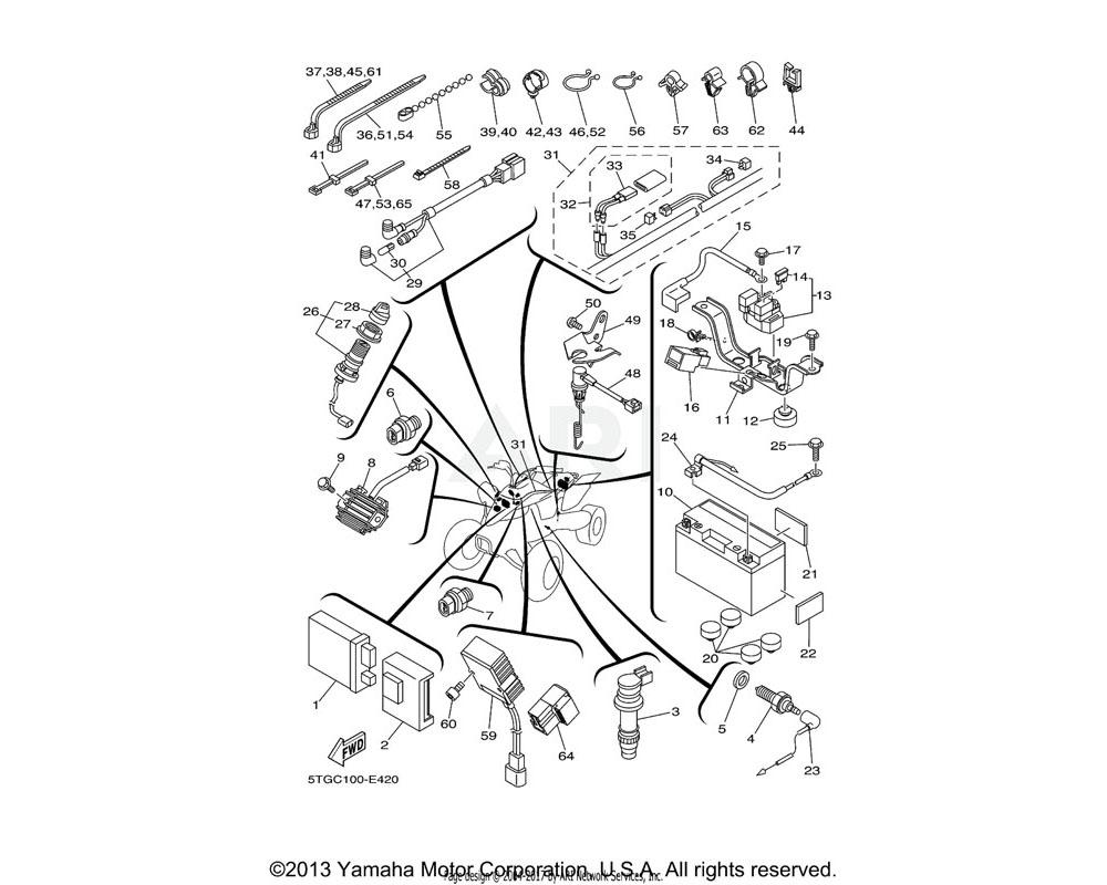 Yamaha OEM 90464-30040-00 CLAMP