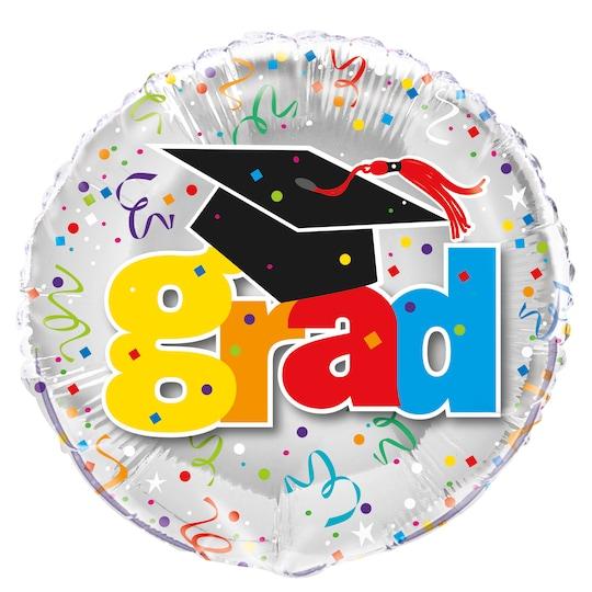 Foil Graduation Balloon, 18