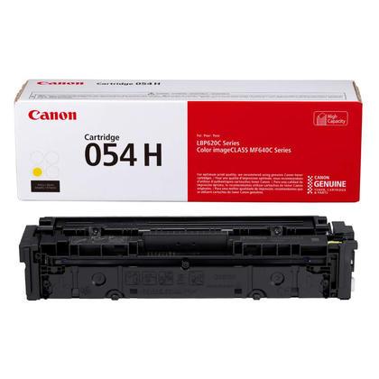 Canon 054H XL CRG 054Y H 3025C001 Original Yellow Toner Cartridge High Yield