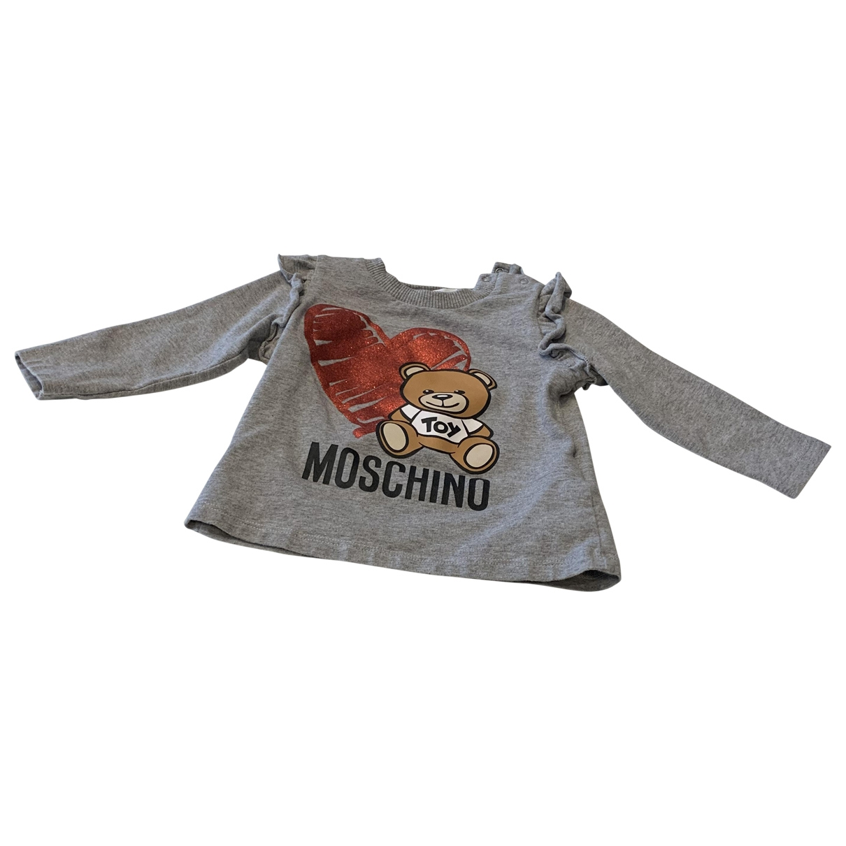 Moschino \N Grey Cotton  top for Kids 12 months - up to 74cm FR