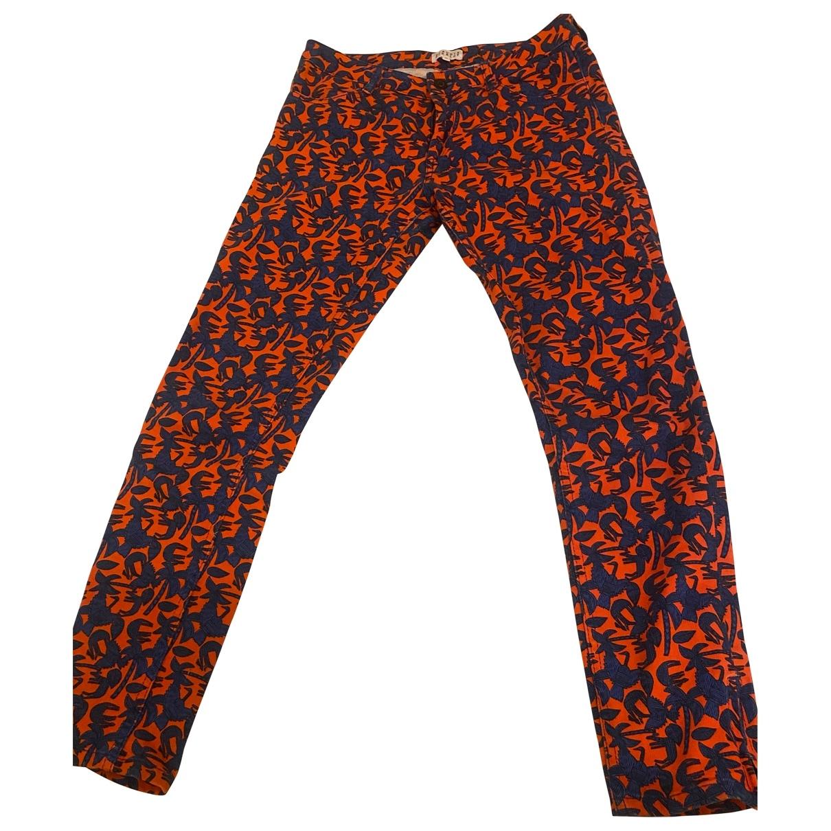 Claudie Pierlot \N Cotton Jeans for Women 36 FR