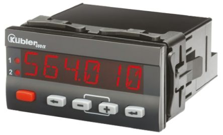 Kubler CODIX 564 On/Off Temperature Controller, 96 x 48mm, RTD, Thermocouple Input, 90 → 260 V ac Supply