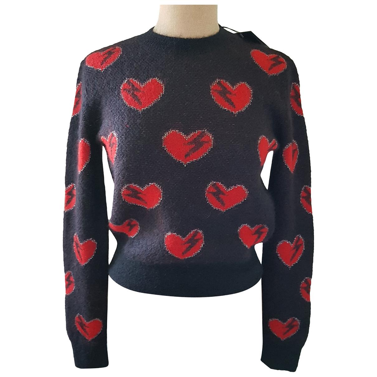Saint Laurent \N Black Wool Knitwear for Women M International