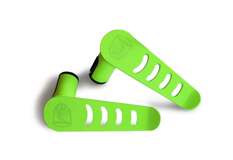 Steinjager J0048890 Foot Rest Kit Gladiator JT 2019 Metal Design Neon Green