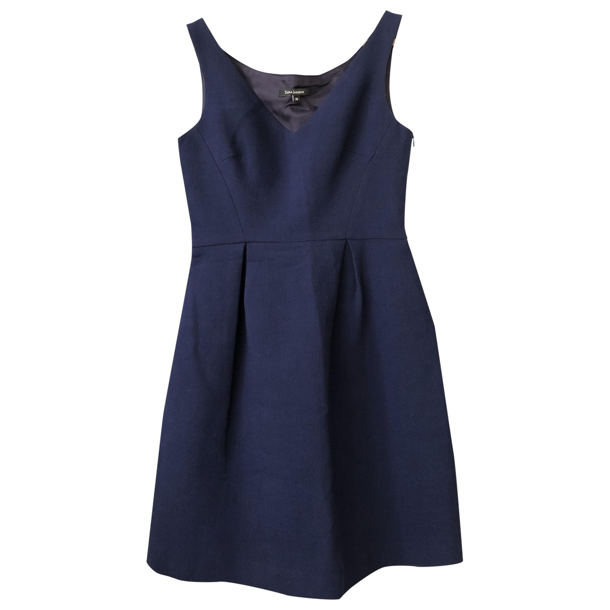 Tara Jarmon \N Blue Wool dress for Women 36 FR