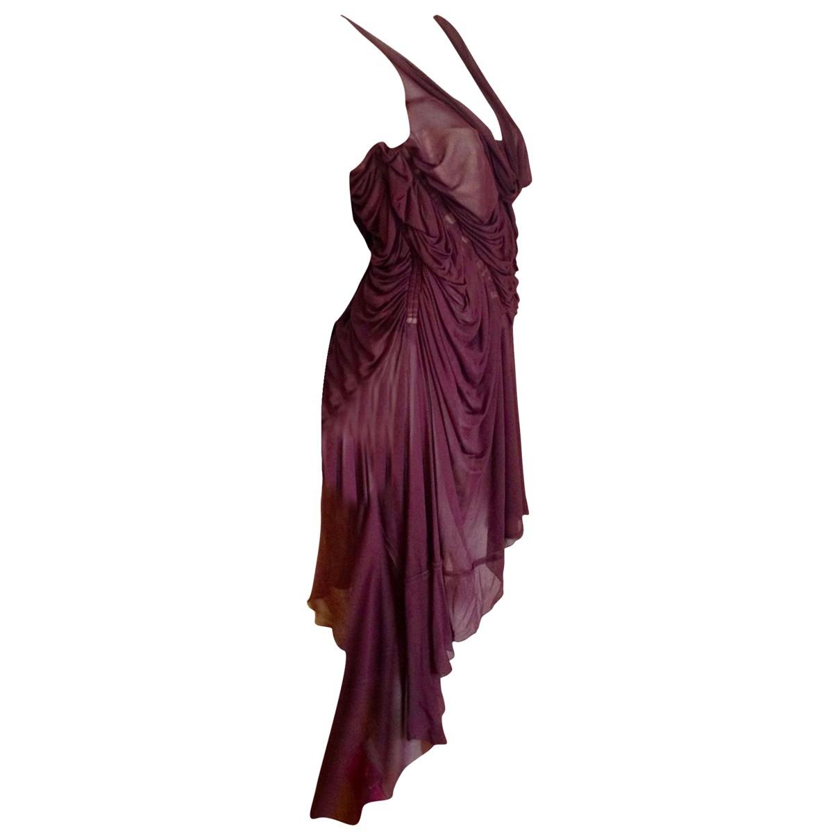 Jean Paul Gaultier \N Brown dress for Women 40 FR